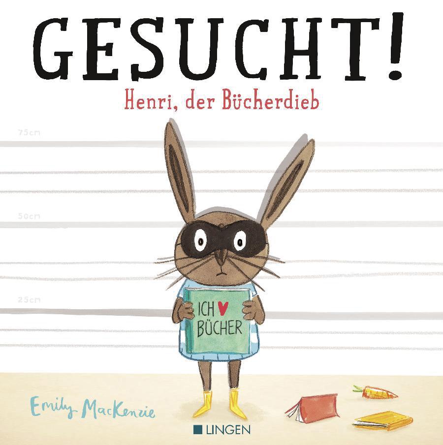 'Gesucht! Henri, der Bücherdieb' von Emily MacKenzie